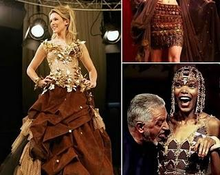 Guys, these clothes all of them made from Chocolate... hehe.. Its awesome