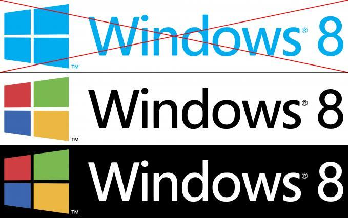 windows 8 logo redesign.. yg make win 8 silahkan klik WOW...!!