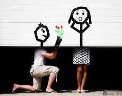 lamaran cinta yg unik? TO TWEET