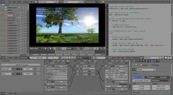 Ini Realtime Nature Environment Buatan Ku,Menggunakan Blender 3D Game Engine Aku Bikin Dengan Sangat Detail,Dan Dalam Waktu 3 Hari Aku Selesai Membuatnya Mudahan gak Sia-Sia,Jadi Klik WOW nya Ya.. =D