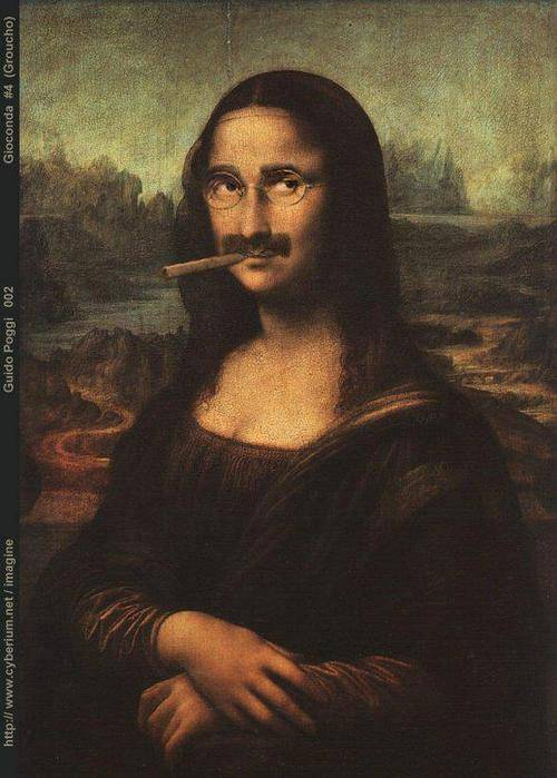 Waduh!!! Lukisan monalisa 1000 tahun kedepan :D WOW jika kamu menyukai foto ini.