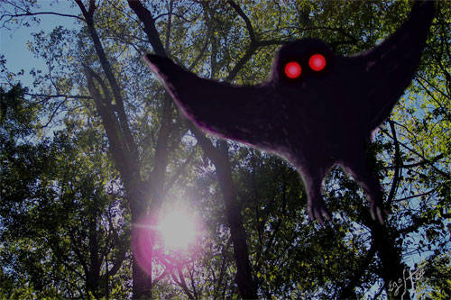 Mothman adalah salah satu urban legend yang cukup terkenal di daerah Virginia. Mothman digambarkan adalah mahluk bersayap dan setinggi manusia, bermata merah, kadang muncul tanpa kepala dan mata merahnya ada di dada. Pertama kali ditemukan di