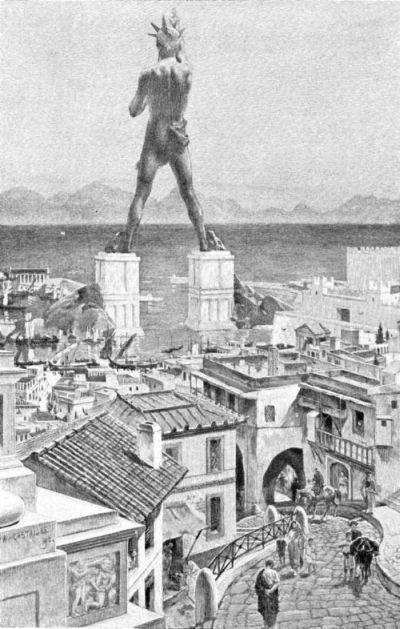 Colossus Rodos Colossus Rodos adalah patung Helios, yang terletak di pulau Rodos, Yunani, dibuat oleh Chares dari Lindos antara 292 dan 280 SM. Patung ini dianggap sebagai 7 keajaiban dunia kuno. Sebelum kehancurannya, patung ini berdiri lebih