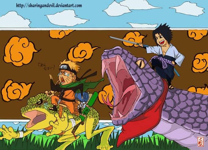 kartun naruto tergokil uzumaki naruto vs uchiha sasuke jgn lupa klik wow