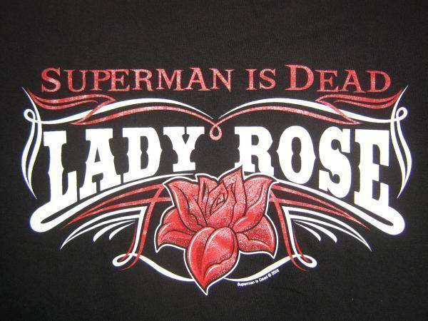 ledy ROSE superman is dead