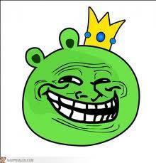 angry birds troll face. jangan lupa wownya....