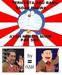 SBY dan ayah nobita sama loh.