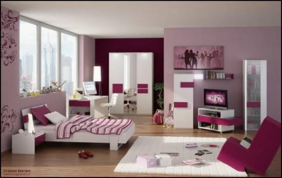 kamar yang fans PINK ^_^ wow