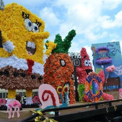 Parade Ini Berada Di Kota Palembang ,Sumsel Pada Hari Rabu Tanggal 16 Mei 2012. Klik Wow Dan Spongebob-nya bakal Melayang! Wkwkwkwkwk...