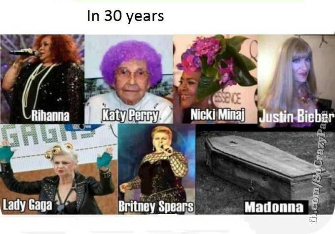Wow... Celeb In 30 years a go..