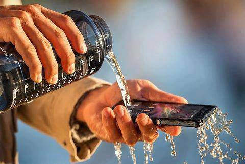 Sony Water Friendly Phone. Sony has announced a new smartphone that can be used in the shower or bath without the risk of damage. The Xperia Z can also record HDR (high dynamic range) video, a facility borrowed from its camera division.The And