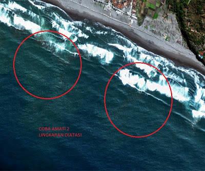 Mengenakan pakaian renang warna tertentu kabarnya bahaya kalau berenang di pantai selatan Jawa, bisa-bisa diambil anak buah Penguasa gaib Laut Selatan. Mitos ini telah berkembang sejak dulu, sehingga berakar kuat dalam kepercayaan masyarakat.