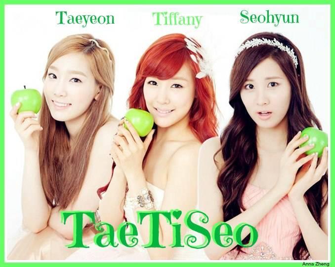Taeyeon,Tiffany,Seohyun :* WOOOWW.... O.o