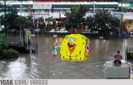 Solusi banjir jakarta selain Avatar Aang :D #from 1cak