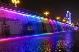 banpo bridge seoul...yang pengen kesini bilang WOW :D