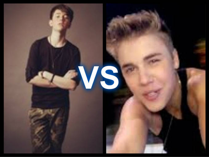 greyson michael chance vs Justin Drew Bieber choose :D and reason :)