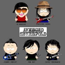 Avenged Sevenfold adalah band Hardrock Amerika dari Huntington Beach, California, yang dibentuk pada tahun 1999. Band ini terdiri dari vokalis M. Shadows, lead guitar Synyster Gates, Zacky Vengeance rhythm guitar, dan bassist Johnny Christ