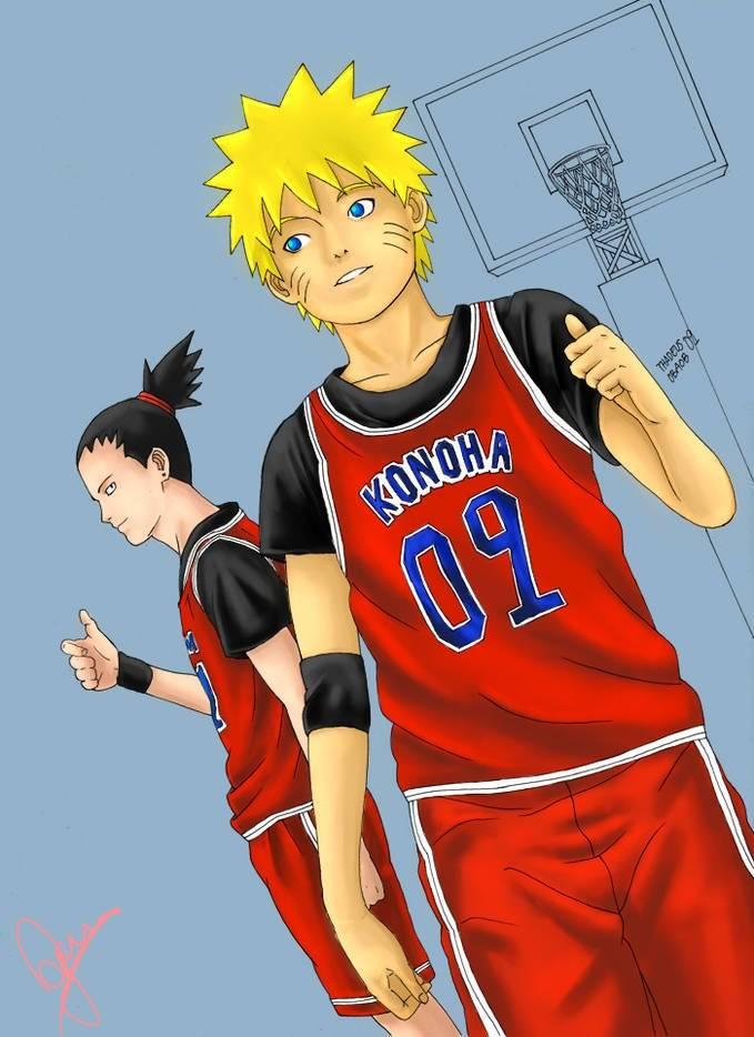 #NARUTO #basket #basketball wow nya mana?? ._.v
