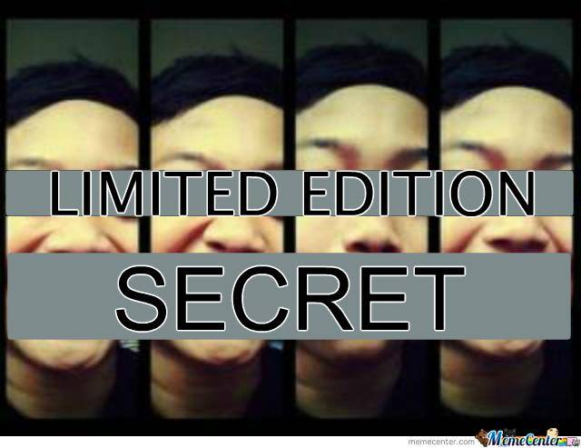 #limitededition #secret # me #onlyme