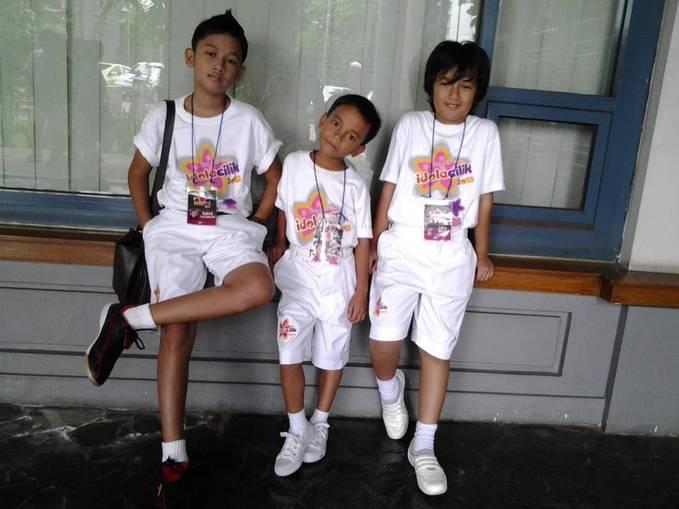 3 Calon Idola Cilik 2013. Dari kiri: Bagas Rahmand Dwi Saputra(Bagas), Ivan Roy Simanjutak(Ivan), dan Muhammad Difa Ryansyah(Difa). Kira-kira siapa yang jadi next Idola Cilik?