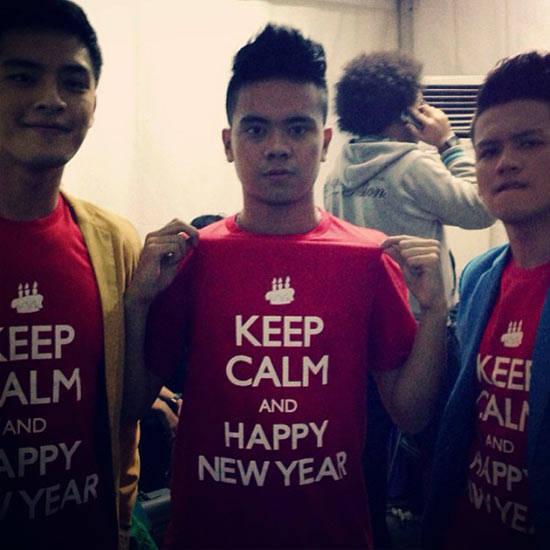Ucapan Selamat Tahun Baru dari Morgan, Reza, dan Ilham untuk semua teman-teman PULSKER! Ayo ditahun yang akan datang semoga PULSK tambah keren!