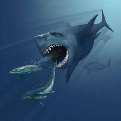 Hewan terbesar pada zaman dahulu: Megalodon adalah sejenis hiu yang hidup di masa purba. Hiu ini merupakan nenek moyang hiu dan tentunya memiliki ukuran yang luar biasa besar. Megalodon kecil berukuran sekitar 6 meter panjangnya. Sedangkan Meg
