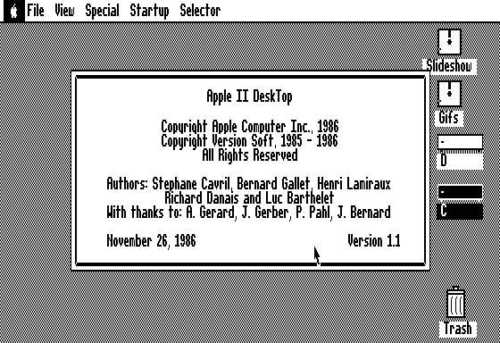 Dekstop Apple II jadul