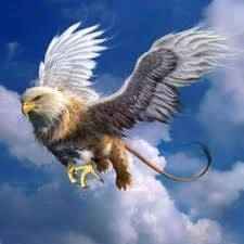 Griffin, griffon, atau Gryphon (Yunani: ??????, Gryphon, atau ??????, grýp?n, ???? bentuk awal, grýps, Latin: gryphus) adalah makhluk legendaris dengan tubuh dan kaki ekor dan belakang singa, dan kepala dan sayap burung elang, dan kaki elang se