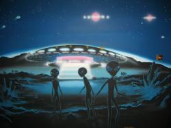 10 Negara Yang Sering Ada Penampakan UFO