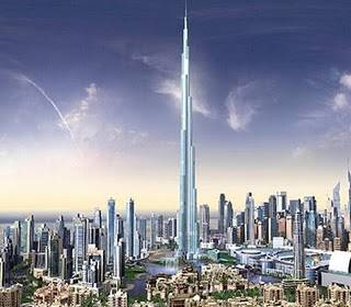 Bangunan apakah yang tertinggi di dunia? Ya, ini adalah gedung tertinggi di dunia. Ini adalah gedung Burj Khalifa. Gedung ini mempunyai 162 lantai. WOW nya mana nih??