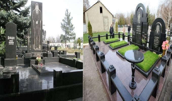 Kemewahan Kuburan Para Geng Mafia Rusia .....