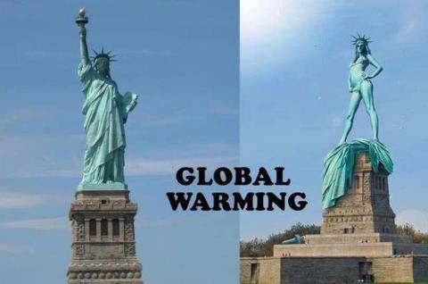 WOWOWOWOWOWOW .. INI AKIBAT DARI PEMANASAN GLOBAL !