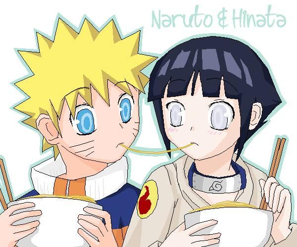 Naruto and hinata. so sweet.......................... yang nganggep ini sweet, klik wow