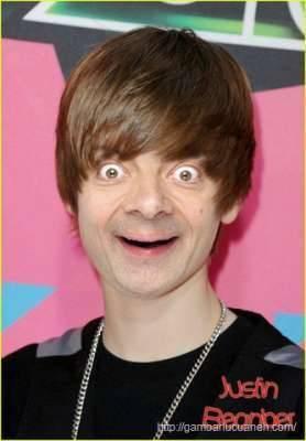 Ini adalah kembaran Justin Bieber Namanya Justin BeanBer WOW YAA.....
