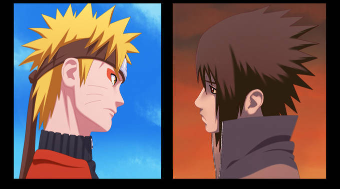 mana yang paling kuat.... Naruto dengan mode sage atau sasuke dengan sharingan nya??......