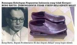 Bung Hatta dan Sepatu Bally Yang Tak Pernah Terbeli