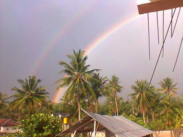 twin-Rainbow.. :D soo beautiful... ^___^
