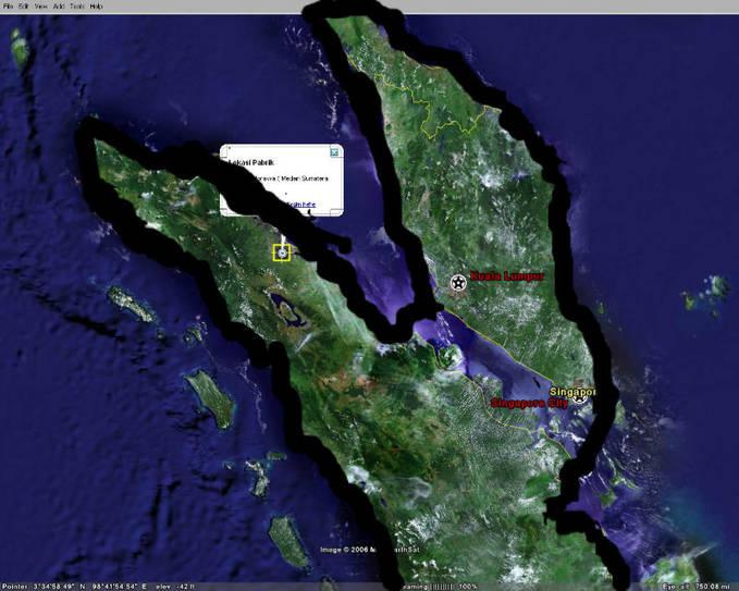 Misteri Antara Pulau Sumatera Utara Dan Pulau Kuala Lumpur !! Pulau Ini Mirip Dengan Buaya Ini Misteri Saya Baru Mendapatkan nya