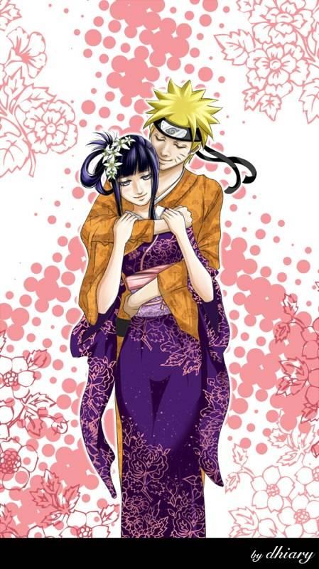 NaruHina,........,,.,.,. Hinata sangat cantik kalau memakai baju itu bukan?