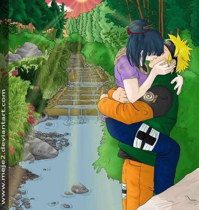 so sweet bgt ya Naruto dan Hinata, yang kepengen bilang WOW