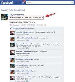 terbongkar cara membuat status ter balik di facebook/twiter caranya klik http://www.hong.web.id kalau mau coba klik wow dulu