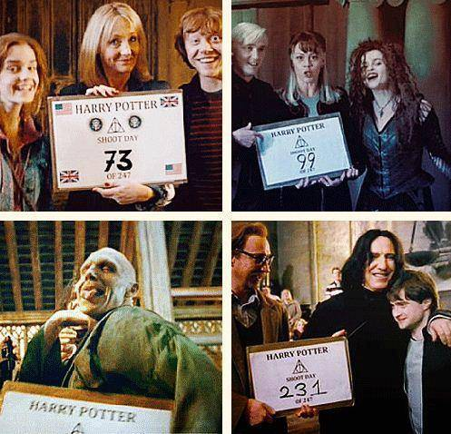 Behind The Scene Of HP, DH