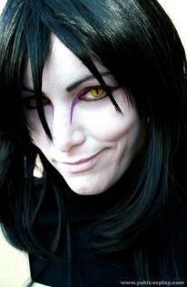 [Cosplay Orochimaru] Amazing cosplayer..... O.o