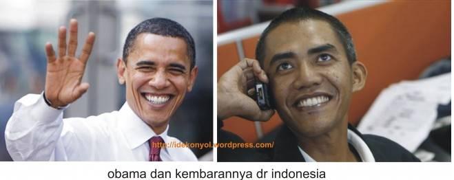 kembaran obama dari indonesia guys.. jgn lupaa WOW nya y...
