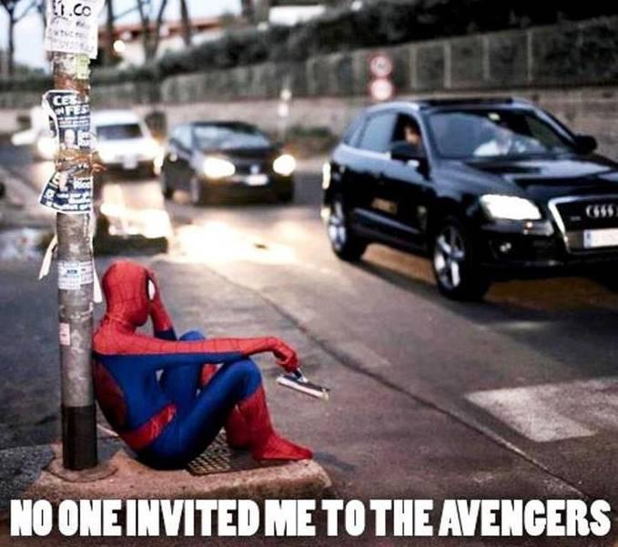 gni nih hasil x klo spiderman gk di ajak film avengers
