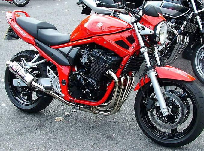 Suzuki Bandit Red.