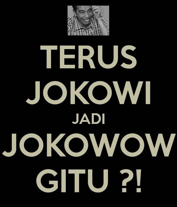 JOKOWI + WOW = JOKOWOW Coba isi namamu pakai rumus ini : namamu + klik WOW = pasti keren