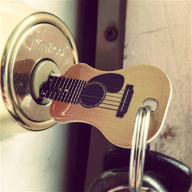 Acoustic Guitar Key! WOW