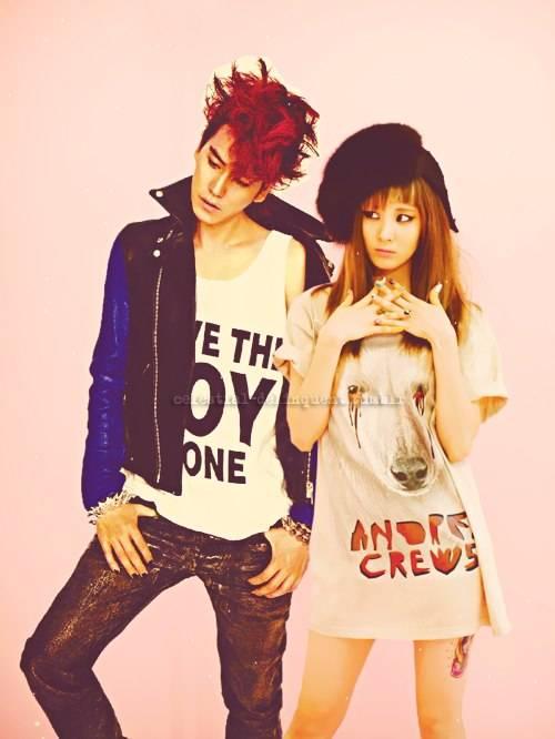 SeoKyu couple. pict editan :) #yg gak suka gak usah coment ok....