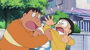 giant....berhenti menyakiti nobita!!!klik WOW agar giant berhenti menyakiti nobita...